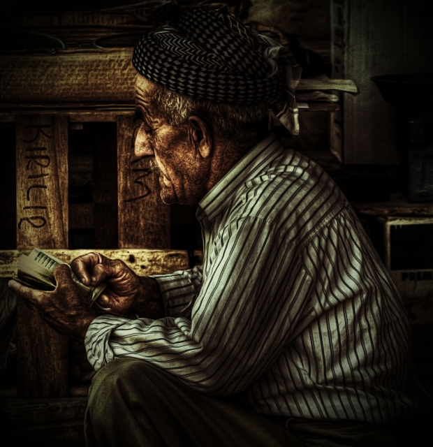 HDR Portrait for old man