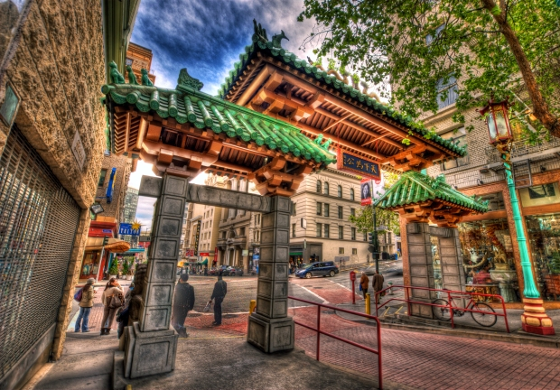 A Gateway Arch (Dragon Gate) - Chinatown, SF