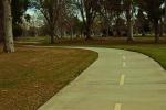 Zigzag road