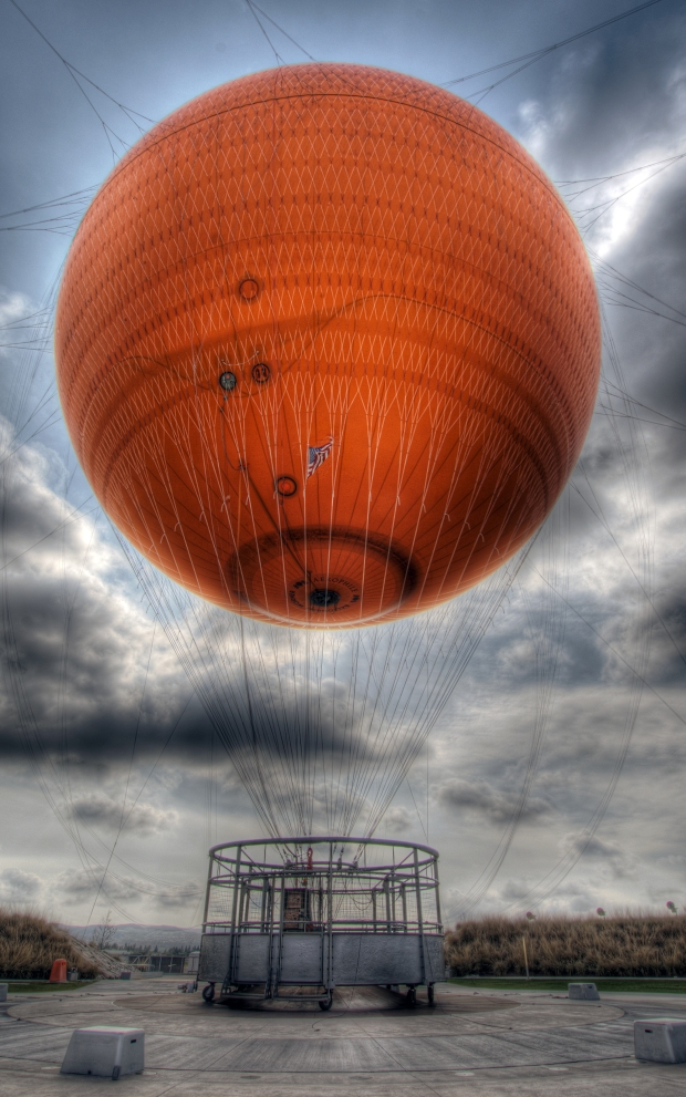 Great Park Balloon (HDR) - Orange County Great Park, Irvine, OC, CA