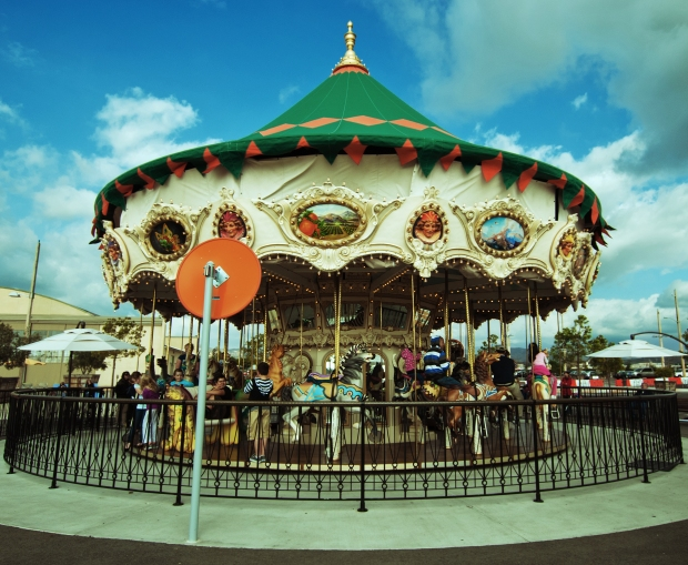 The Great Park Carousel - Orange County Great Park, Irvine, OC, CA