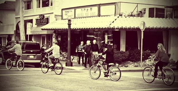 Biking - Balboa Island
