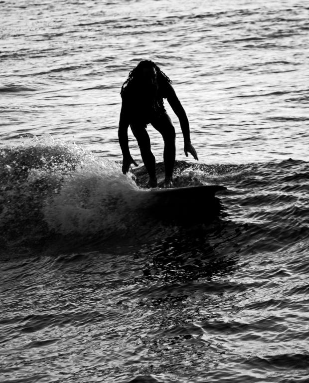 Surfer Silhouette - La Jolla, San Diego #2
