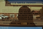 My Reflection on the La Mesa Depot Description