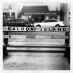 Balboa Island - Bench