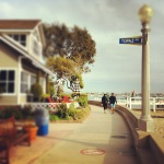 Balboa Island - Walking in South Front Bay Street
