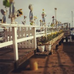 Balboa Island - Pier with Easter Decoration