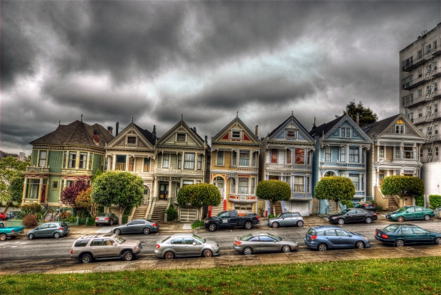 Painted Ladies (Postcard Row) #3 - San Francisco