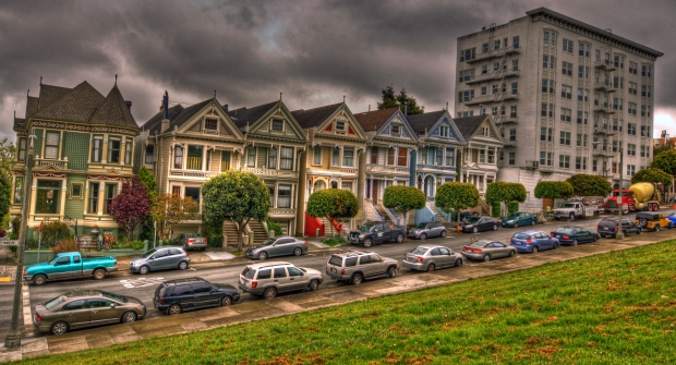 Painted Ladies (Postcard Row) #2 - San Francisco