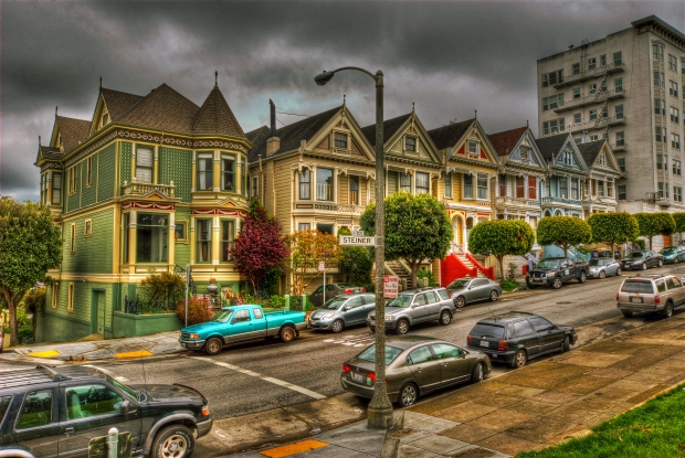 Painted Ladies (Postcard Row) #1 - San Francisco
