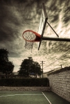 Basketball Ring - Balboa Peninsula (final Image)