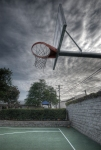 Basketball Ring - HDRI Image
