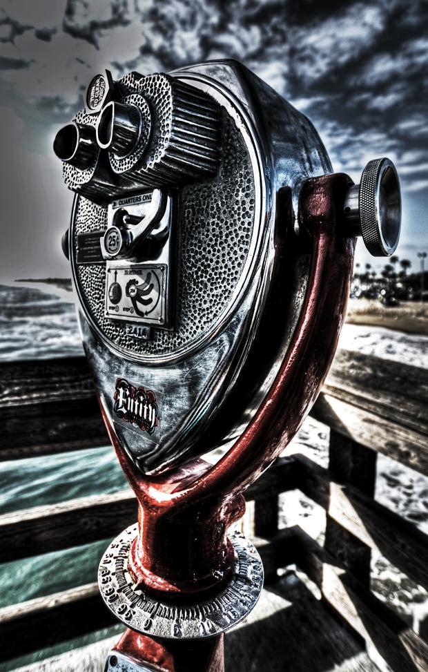 Binocular Viewer #2 - Balboa Pier (Newport Beach)