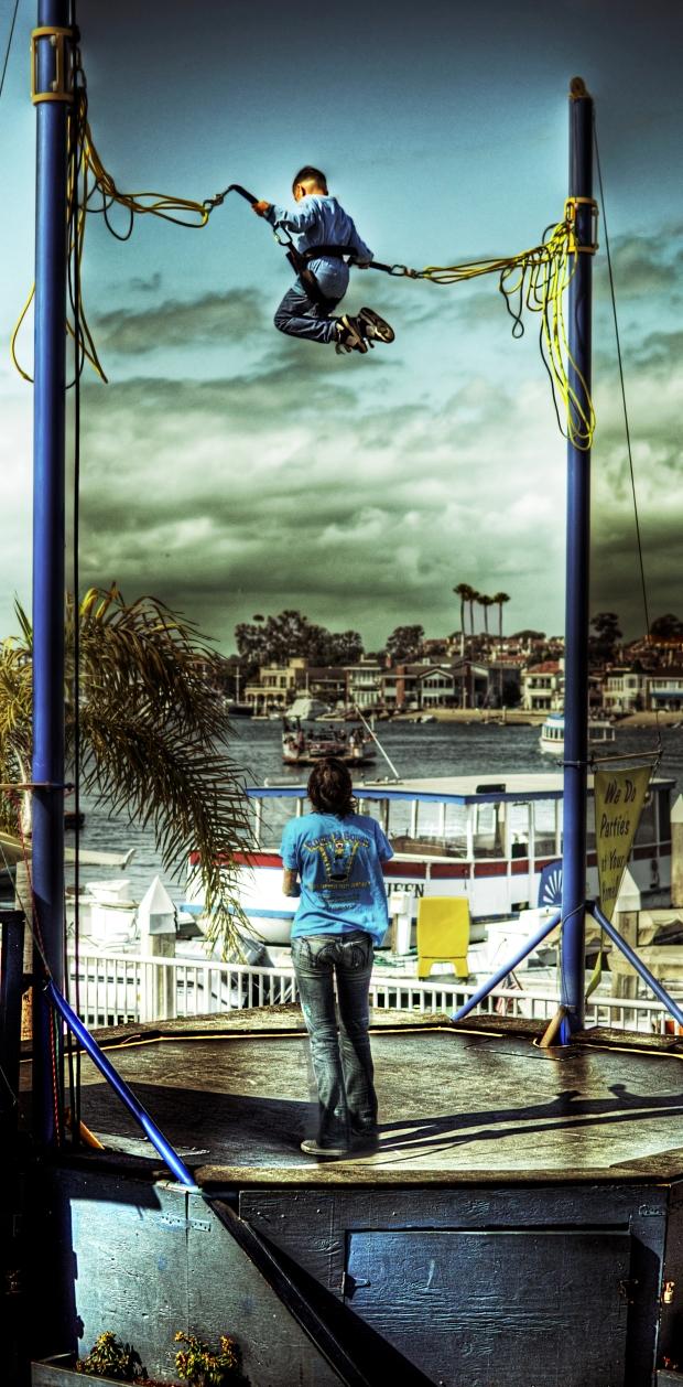 Trampoline - Balboa Peninsula