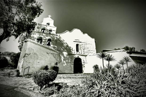 Mission San Diego de Alcalá - The Mission Facade