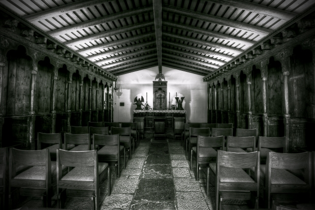 Mission San Diego de Alcalá - Capilla (The Chapel) Interior