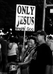 Las Vegas - Marketing Jesus in the wrong place - Street Photography