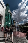 Las Vegas - Giant Coca Cola Bottle - Street Photography