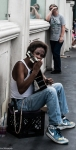 Las Vegas - Playing Guitar for Living - Street Photography