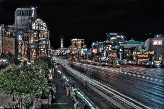 The Strip at Night - Las Vegas