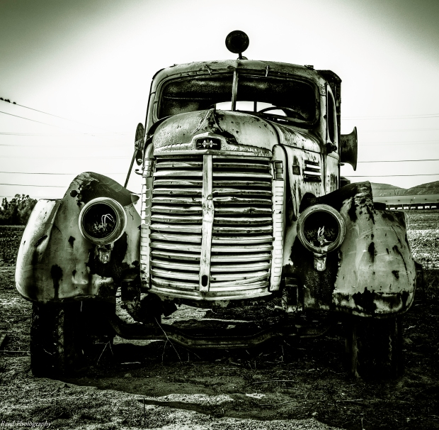 Vintage Truck - Monochrome