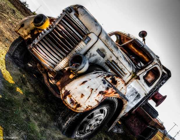 Vintage Truck - HDR
